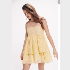 Urban Outfitter Yellow Dress